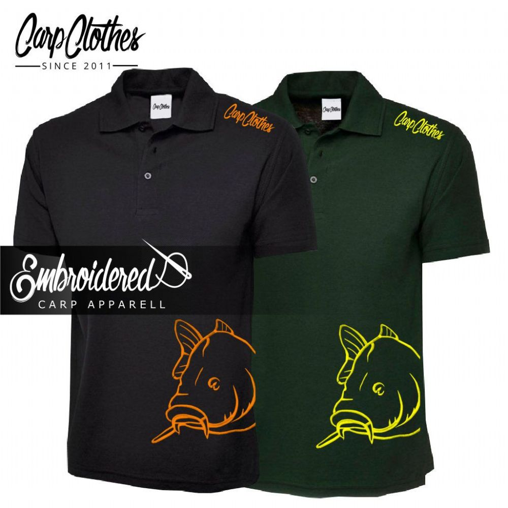 CHILD 008 EMBROIDERED CARP POLO